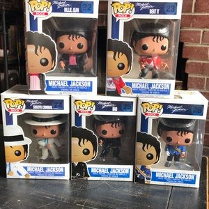 Funko Michael Jackson Vaulted POP Rocks